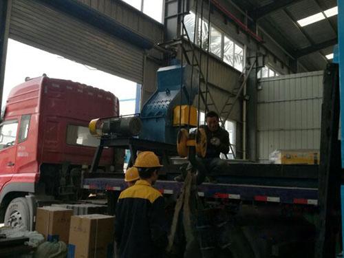 贵金属精炼设备发货现场